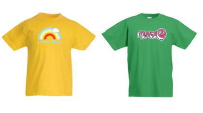 Printed Kids T Shirts